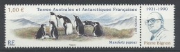 French Antarctic (FSAT), Gentoo Penguin (Pygoscelis Papua), 2011, MNH VF  Stamp + Label - Unused Stamps