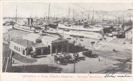 Italie - Genova - Ponte Federico Guglielmo - Stazione Marittima - Gare Maritime Port - Genova (Genoa)