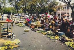 Afrique - Côte D'Ivoire - Abidjan - Marché - Cachet Postal - Ivory Coast