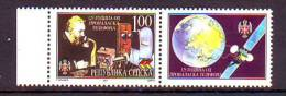 BiH Republic Srpska 2001 Y Telephone Graham Bell With Label Mi No 196 MNH - Bosnien-Herzegowina
