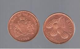 GAMBIA - 1 Butut 1998   KM54 - Peanuts - Cacahuetes - Gambia