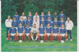 Sport : Football : équipe De  France    1998 - Football
