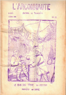 ARGONNAUTE JOURNAL DE TRANCHEES GUERRE 1914 1918 PRESSE POILU 1916 25e DE LIGNE