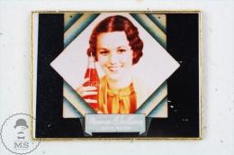 Maureen O´Sullivan Coca Cola Vintage Advertising - Pin Badge #PLS - Coca-Cola