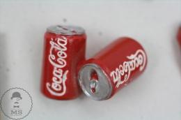 Nice Coca Cola Advertising Relief Ceramic Coke Tins  - Pin Badge #PLS - Coca-Cola