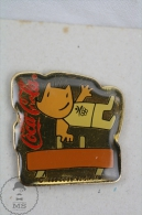 Coca Cola Advertising Barcelona 1992 Olympic Games Mascot Cobi - Pin Badge #PLS - Coca-Cola