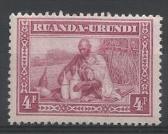 RWANDA-BURUNDI - COLONIES BELGES  -  N° COB 103 NEUF** - 1922 - COTE: 1.40€ - 1916-22: Oblitérés