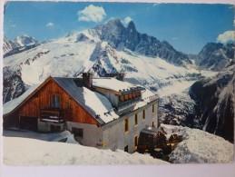 Chamonix, Le Vieux Chalet De La Flégère, Les Champs De Ski De Lognan, La Verte, Les Drus, La Mer De Glace. CPSM. - Chamonix-Mont-Blanc