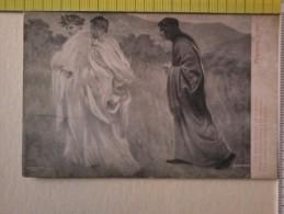 Cart . -  Divina Commedia Ed. V. Alinari -Purgatorio C. XXII -Elli Giravan Dinanzi Ed Io Soletto............. - Libri