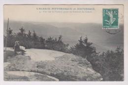 CPA DPT 88 VUE SUR LA FRANCE PRISE DU SOMMET DU DONON - France