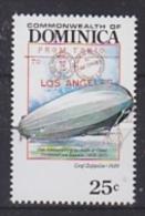 Dominica 1992 Graf Zeppelin 1v ** Mnh (20956A) - Dominica (1978-...)