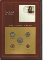 BHUTAN  - Uncirculated Set Of 5 Coins - 5 Chhertum To 1 Ngultrum - 1979 - Butan