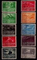 Austria, 1933, WIPA Labels, Ludwig Hesshaimer, Unused - Etichette Di Fantasia