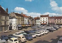 77 Seine Et Marne  Coulommiers Place Du Marché Citroën 2 Cv 3 Cv Diane Camionnette Et Autres - Coulommiers