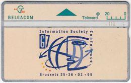 BELGIUM A-517 Hologram Belgacom - 501A - used