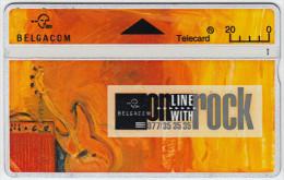 BELGIUM A-564 Hologram Belgacom - Event, Music festival - 404A - used