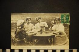 CP, AGRICULTURE VIGNES Nos Tourangelles Hommages Aux Vins De Touraine N° 307 Voyagé En 1929 - Vignes