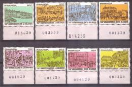 Rwanda 1980 - Belgian War Of Independence - Rwanda
