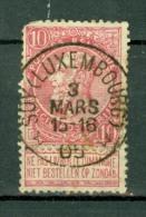 België/Belgique  58  Soy ( Luxembourg )  Nipa + 350 - 1893-1900 Fine Barbe