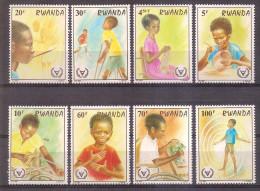 Rwanda 1981 - International Year Of The Disabled - Rwanda