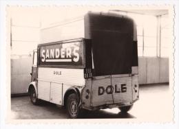 """Photo 8.5 X 12.2 - Tube Citroên Surélevé """"Publicité """"Sanders"""" Dole, Accidenté, Choc Arrière Gauche,immatriculé 589 DR 39 - Automobiles"""