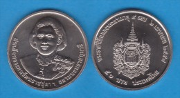 """THAILAND   50  BATH  2015   2.015 Cu Ni  """"60Th Birthday Of Princess SIRINDHORN""""  SC/UNC  T-DL-11.306 - Tailandia"""
