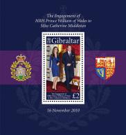 Gibraltar 2011 Mih. 1404 (Bl.98) Royal Engagement MNH ** - Gibraltar