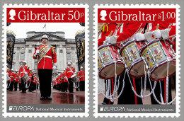 Gibraltar 2014 Mih. 1620/21 Europa-Cept. Musical Instruments MNH ** - Gibraltar