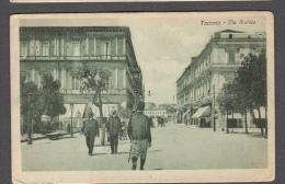 1918 TARANTO VIA ARCHITA FP NV SEE 2 SCANS ANIMATA - Taranto