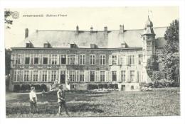 CPA - OVERIJSE - OVERYSSCHE - Château D'Isque - Kasteel  // - Overijse