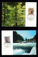 Schweiz MiNr. 1315 / 1316 Umweltschutz Maximumkarte MK 10/11 - Maximumkarten (MC)
