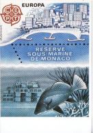 CP - RESERVE SOUS MARINE DE MONACO - EUROPA - C.E.P.T. -  CEF - Ohne Zuordnung