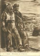 AVIATORE E CARRISTA  Illustrata Santagata  Associazione Nazionale Mutilati E Invalidi Di Guerra - Uniformi