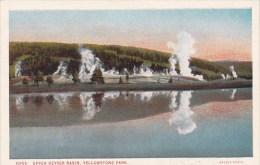 Wyoming Yellowstone Park Upper Geyser Basin