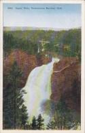 Wyoming Yellowstone National Park Upper Falls