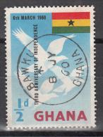 Ghana   Scott No 71    Used     Year  1960 - Ghana (1957-...)