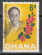 Ghana   Scott No  176   Used     Year  1964 - Ghana (1957-...)