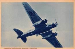 "03324 ""R. AERONAUTICA - L'APPARECCHIO AEROSILURANTE PUNTA DECISO VERSO LA FLOTTA NEMICA"" II GUERRA MOND. ILLUSTR. ORIG. - Aviation"