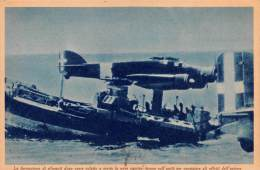 """03325 """"R. AERONAUTICA - LA FORMAZIONE DI SILURANTI DOPO AVER COLPITO......."""" II GUERRA MOND. ILLUSTR. ORIG. - Aviation"""