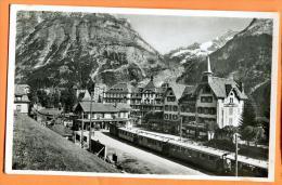 FRS-21  Bahnhof Grindelwald, Gare Et Train. Non Circulé. Schudel 1179 - BE Berne