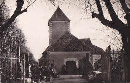 Ar - Cpsm Petit Format Saint Mesmin - L'Eglise - France