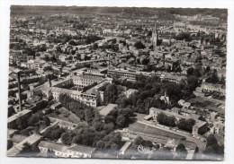 NIORT--env 1950-55---Vue Aérienne,l'Hopital Au Loin Les églises, Cpsm 15 X 10  N° 9  éd Combier-carte Pas Très Courante- - Niort