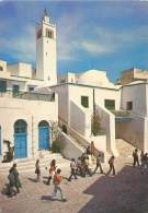 CPM - TUNISIE - Sidi Bou Saïd : La Mosquée - Tunisie