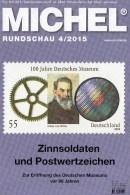 Briefmarken Rundschau MICHEL 4/2015 Neu 6€ New Stamps Of The World Catalogue And Magacine Of Germany ISBN 9783954025503 - Tedesco