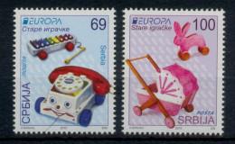 Serbia 2015 EUROPA Old Toys, Set MNH - Serbie