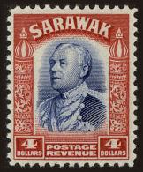 Sarawak Scott #132, 1934, Hinged - Sarawak (...-1963)