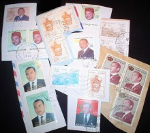 Morocco KILOWARE MissionBag 250g (8½oz) Stamp Mixture      [vrac Kilowaar Kilovara] - Sellos