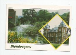 Cp , 62 , BLENDECQUES , Ed : Combier , Voyagée 1986 , Multi-vues - Autres Communes