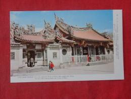 Taiwan Taipei  Lung Shan Temple   Ref  1777 - Taiwan