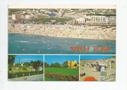 Cp , 62 , STELLA-PLAGE  , Multi-vues , Voyagée 1986 , Ed : Combier - Autres Communes